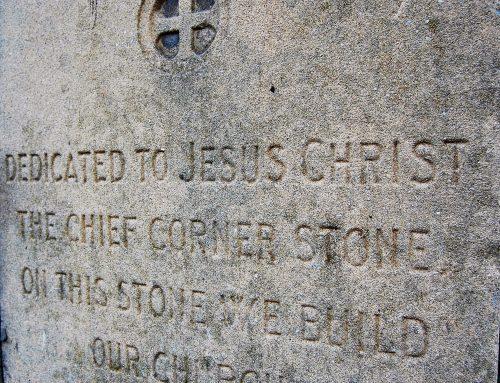 Jesus Christ our Cornerstone